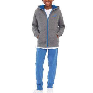 NWT PUMA Boys' Zip Up Sherpa Hoodie Jacket